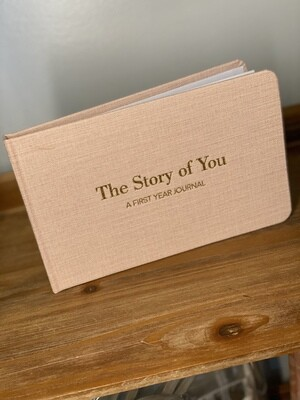 'The Story of You' Baby Girl Journal