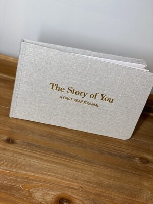 'The Story of You' Baby Boy Journal
