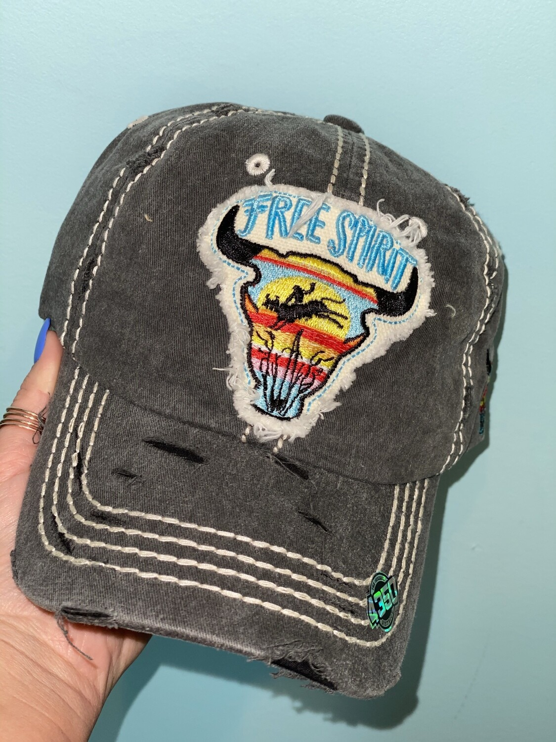 Grey Free Spirit Hat