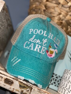 Pool Hair Don't Care Hat
