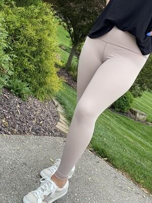Blush High Waisted Athletic Leggings