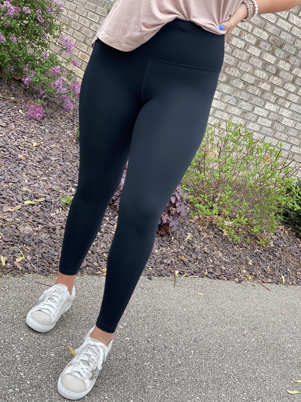 Black High Waisted Athletic Leggings