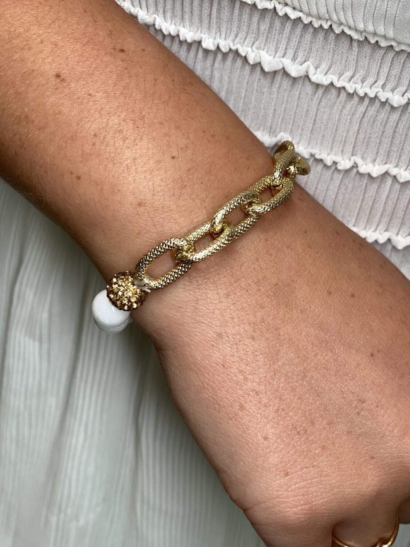 Chain Link Stretch Bracelet