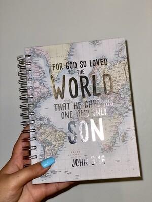 John 3:16 Notebook