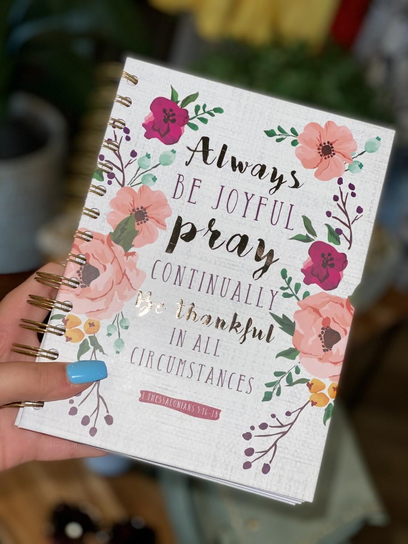 Always Be Joyful Notebook