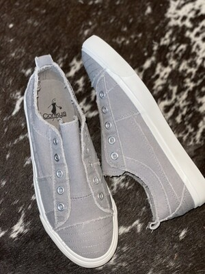 Grey Corky's Babalu Sneakers