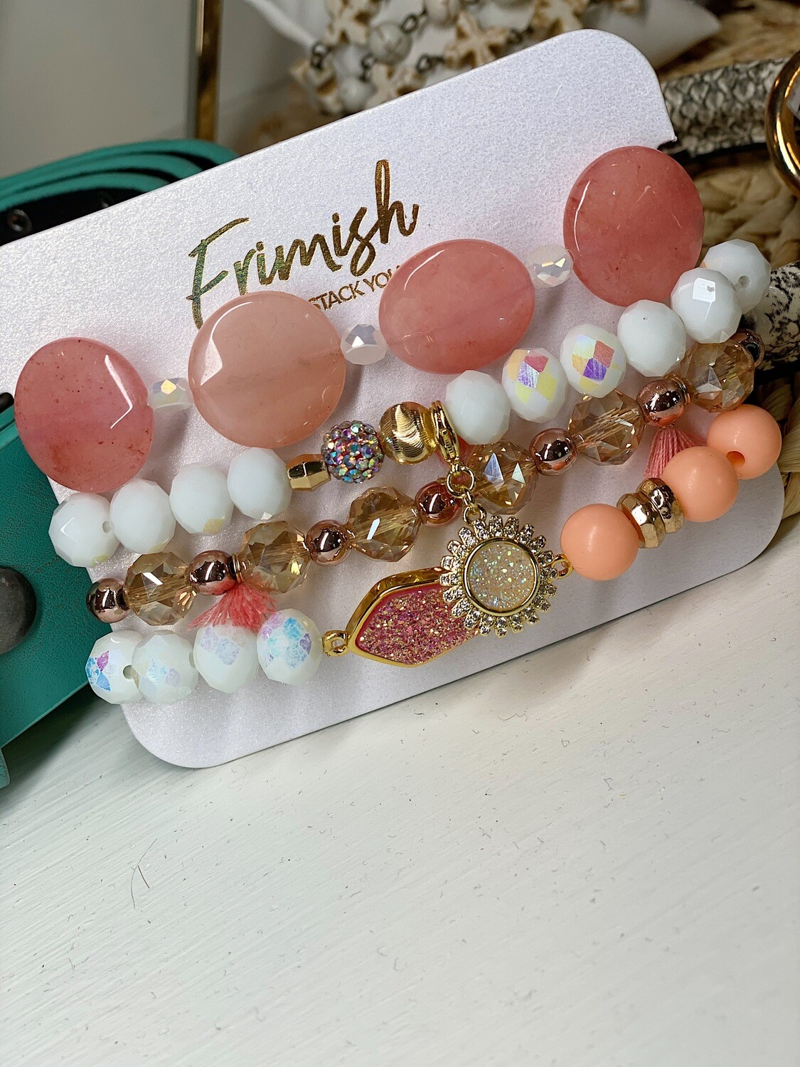 Erimish Coral Candy Carded Stack
