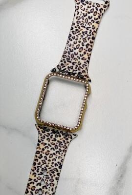 38mm Gold Bling Watch Case