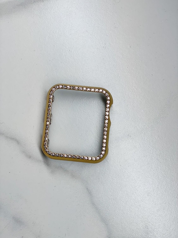 42mm Gold Bling Watch Case