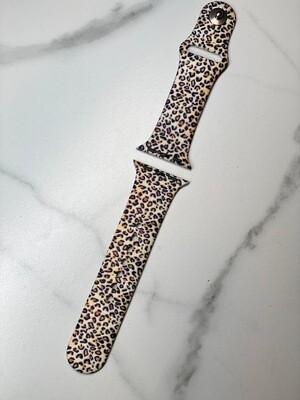 Mini Leopard Print Watch Band
