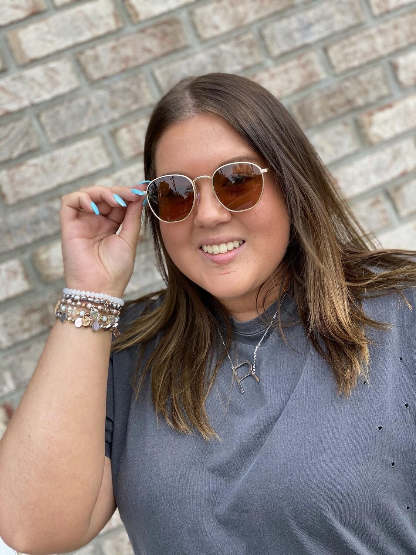 Brown Polarized Sunglasses