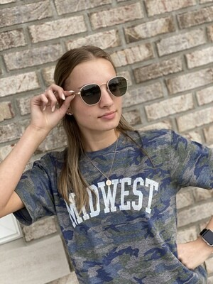 Dark Green Tinted Polarized Sunglasses