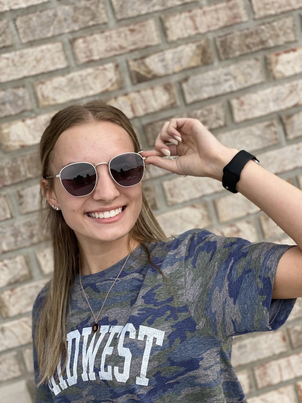 Silver Polarized Sunglasses