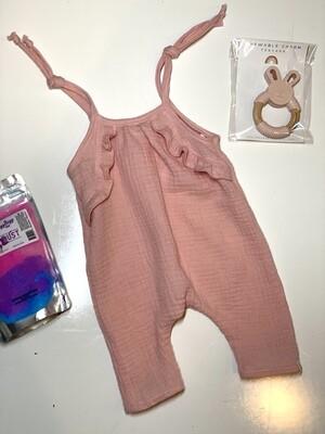 Gray Rabbit Light Pink Jumpsuit