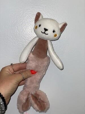 Gray Rabbit Mermaid Stuffy