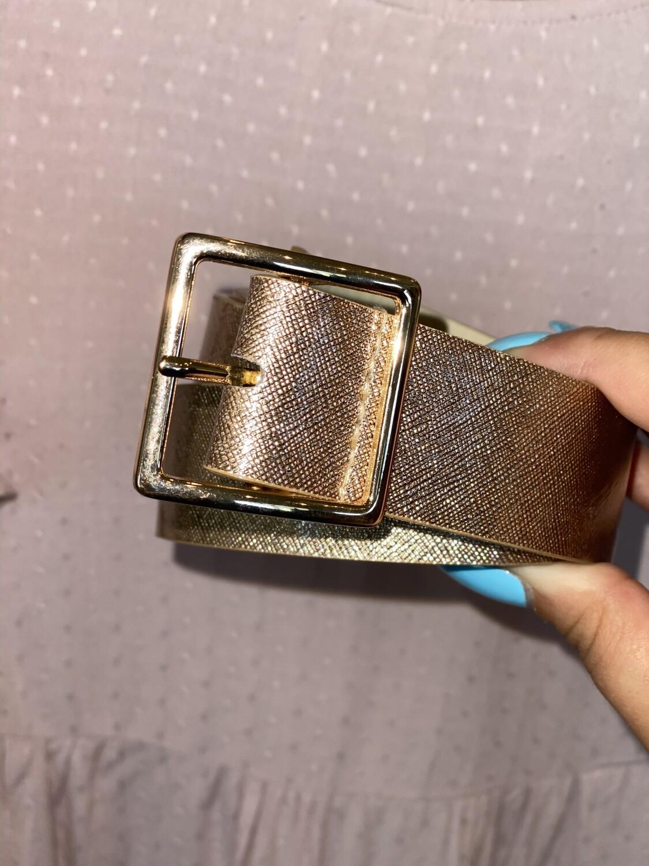 Rose Gold Belt
