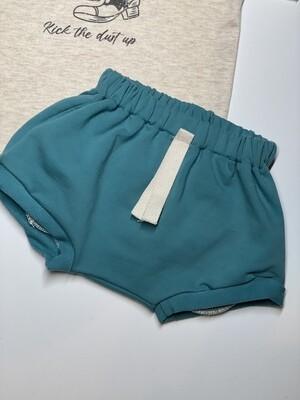 Gray Rabbit Teal Shorts