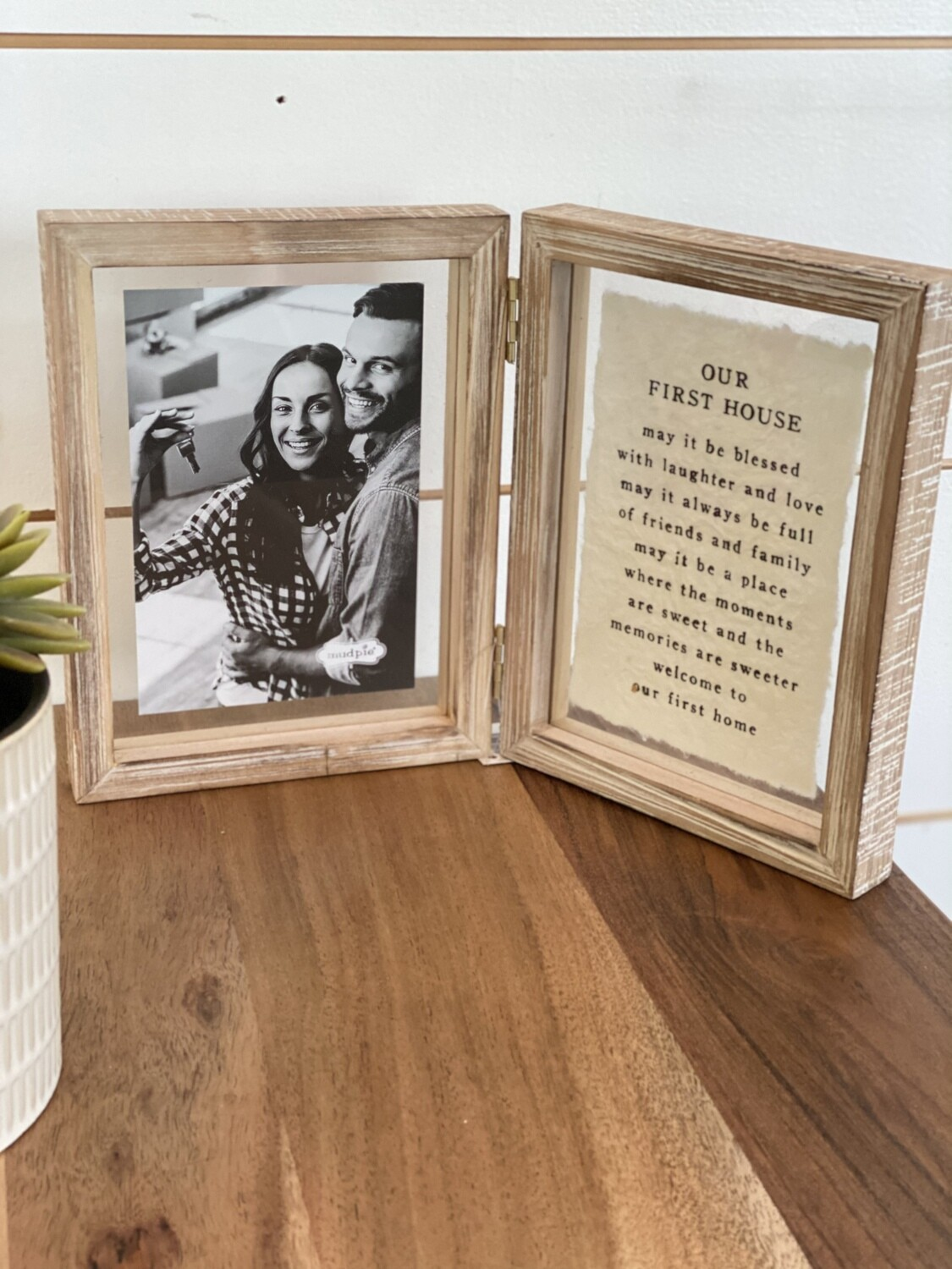 Our First Home Hinged Picture Frames