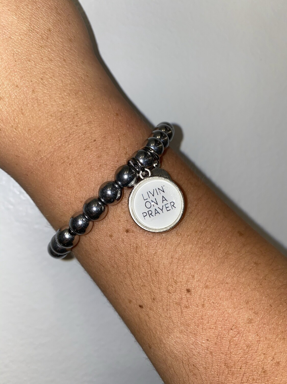 Livin On A Prayer Bracelet