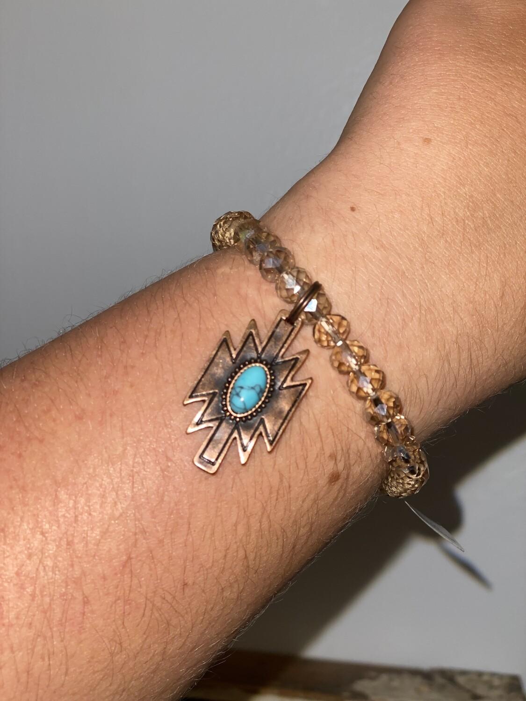 Aztec Charm Bracelet