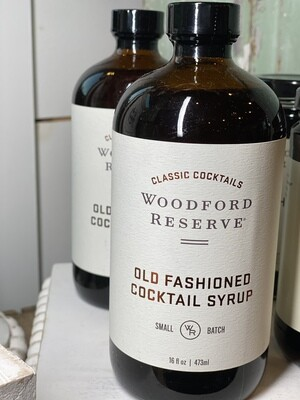 Woodford Reserve 16oz Old Fashioned Cocktail Syrup