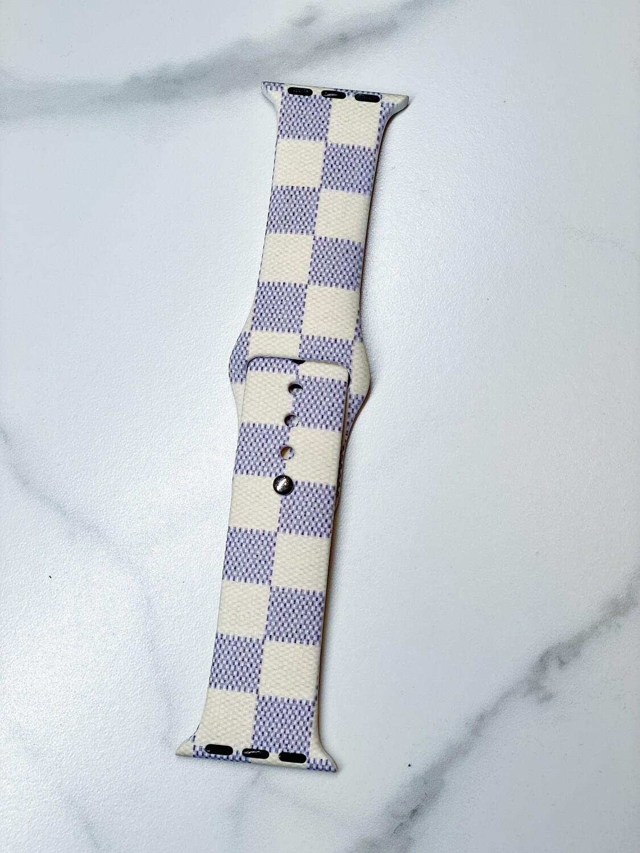 Checkered Watch Band