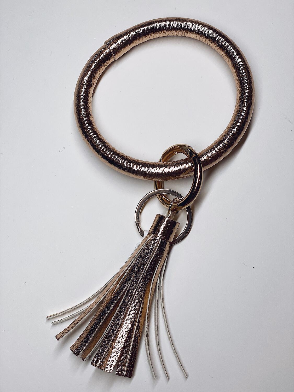 Gold Keychain Bangle