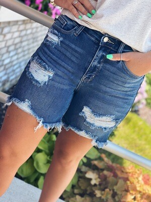 "Judy Blue 6"" Inseam Bermuda Shorts"