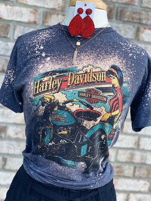 Harley Davidson Bleached Tee
