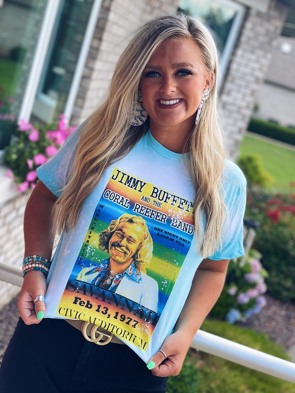 Jimmy Buffett Bleached Tee