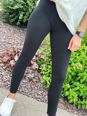 Black Basic Leggings