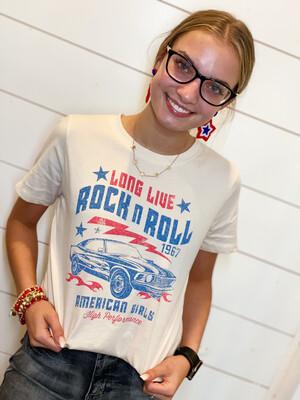 Long Live Rock & Roll Tee
