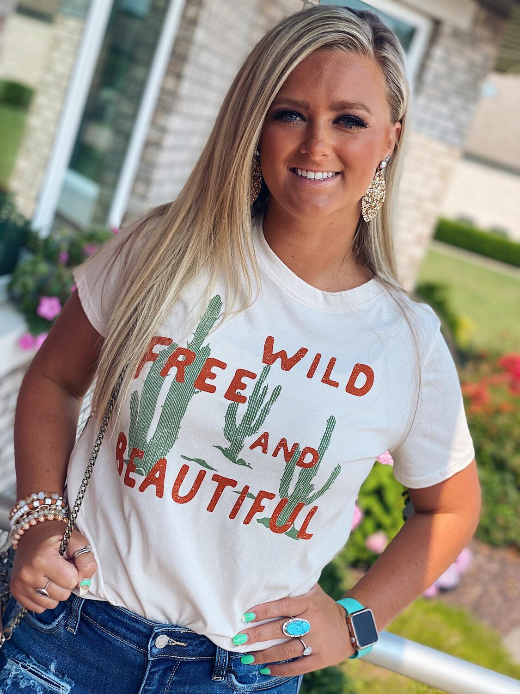Wild, Free, & Beautiful Tee