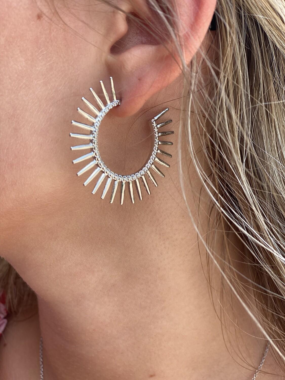 Silver Rylee Earrings
