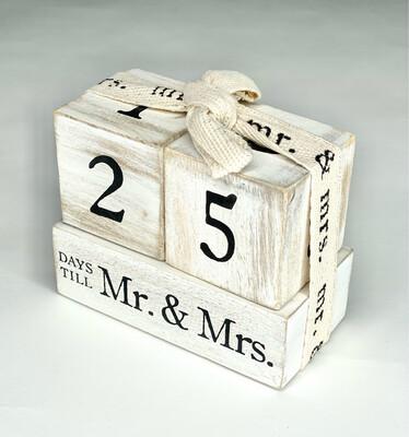 Countdown to Mr. & Mrs.