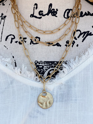Lulla Gold Necklace