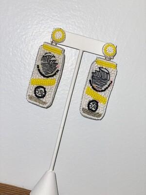 Yellow Seltzer Earrings