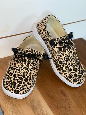 Corky's Leopard Slip On