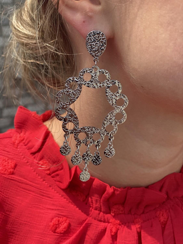 Silver Moriah Earrings