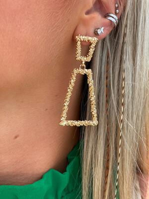 Hanna Gold Earrings