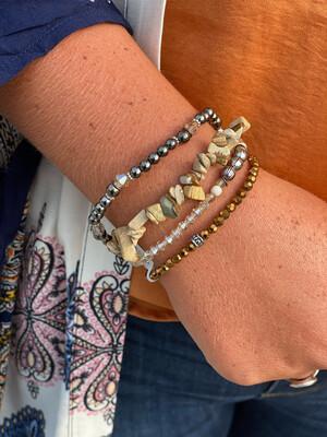 Jasper Mixed Bracelet Set