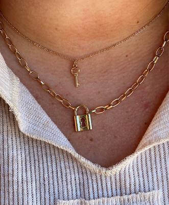 Regina Gold Necklace