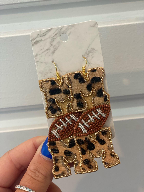Football Mom Earrings