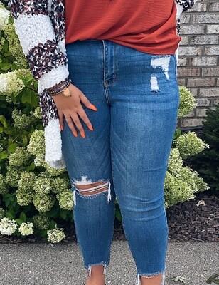 Judy Blue Medium Wash Slim Fit Jeans