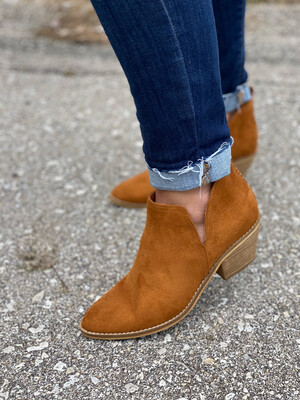 Corky's Brown Strassi Booties