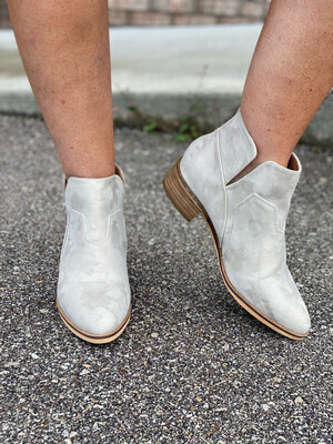 Corky's Gold Metallic Curry Booties