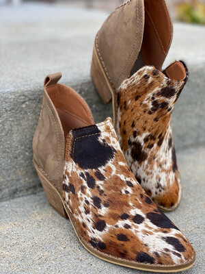 Corky's Genuine Cowhide Limitless Booties