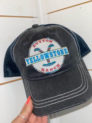 Navy Yellowstone Hat