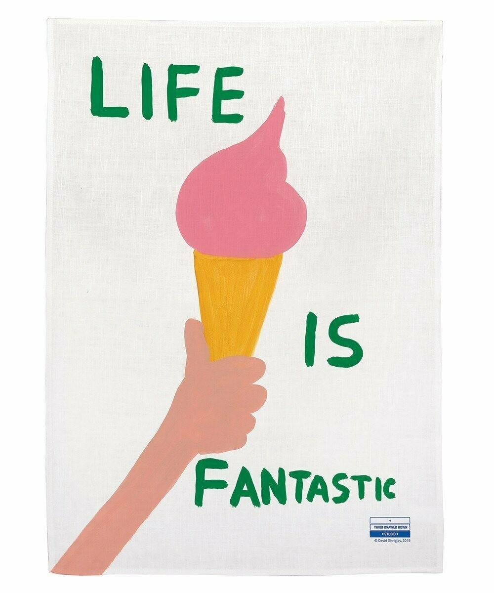 Life is Fantastic Tea Towel