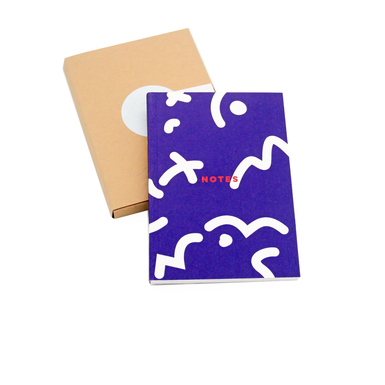 Blue Space Pocket Notebook